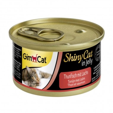 ShinyCat Tonijn met Zalm 24 x 70 gram