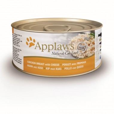 Applaws Kippenborst & Kaas 24 x 70 gram