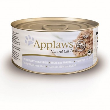 Applaws Tonijnfilet & Kaas 24 x 70 gram