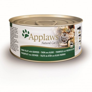 Applaws Tonijnfilet & Zeewier 24 x 70 gram