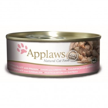 Applaws Tonijnfilet met Garnalen 156 gram