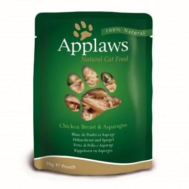 Applaws Quickserve Kippenborst & Asperges 12 x 70 gram