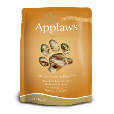 Applaws Kippenborst & Pompoen 12 x 70 gram