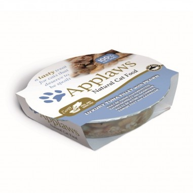 Applaws Tonijnfilet met Garnalen 10 x 60 gram