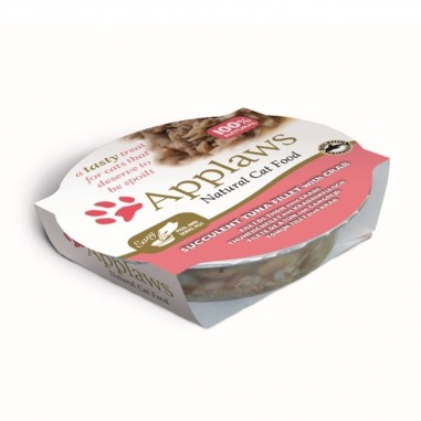 Applaws Tonijnfilet & Krab 60 gram