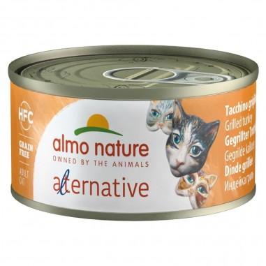 Almo Nature Alternative Gegrilde Kalkoen 24 x 70 gram