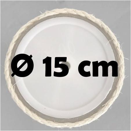 Sisalpalen Ø 15 cm