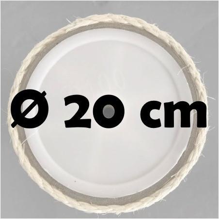 Sisalpalen Ø 20 cm