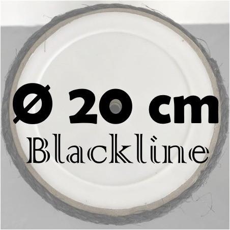 Sisalpalen Blackline Ø 20 cm