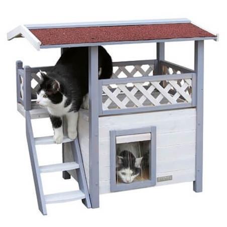 Kattenmeubels voor buiten